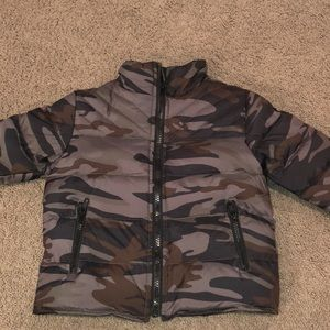 Appaman Down camo jacket